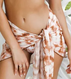 Hot Girl Summer Swim Bottoms & Tie Skirt - FINAL SALE