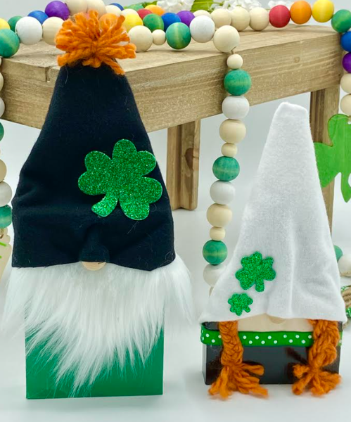 St. Patty's Day Gnomes (2 piece set!)