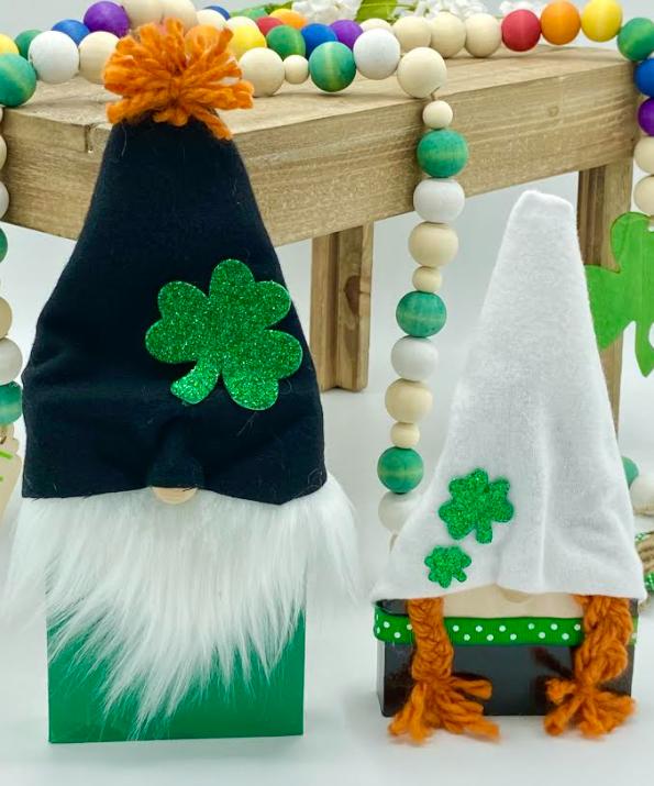St. Patty's Day Gnomes (2 piece set!)