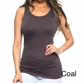 Basic Fitted Layering Tank - 24 colors!