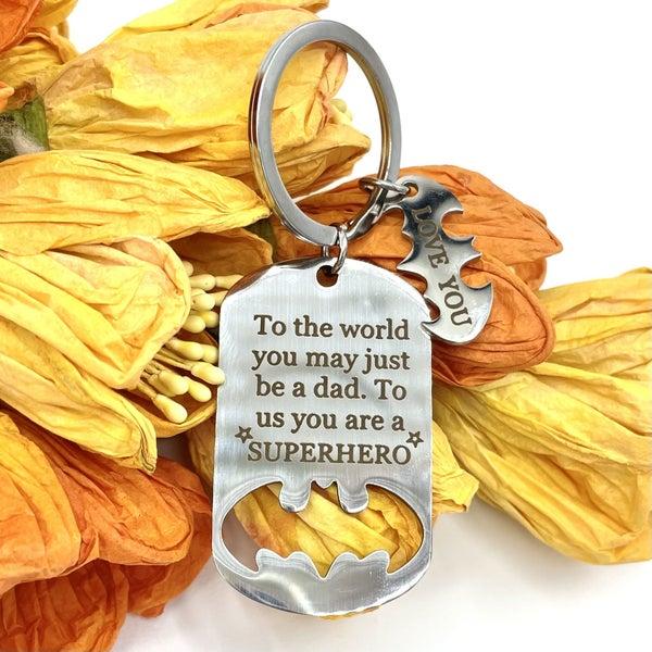 Love You Dad Keychain