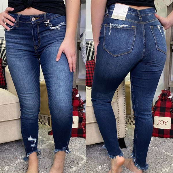 Crop Me Up High Rise KanCan Jeans