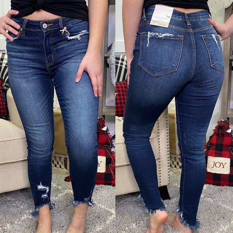 Crop Me Up High Rise KanCan Jeans