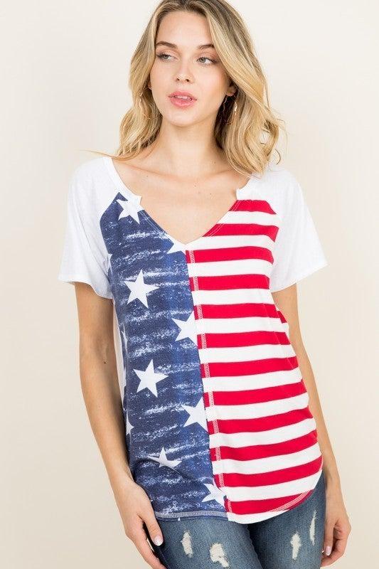 Americana Love Top