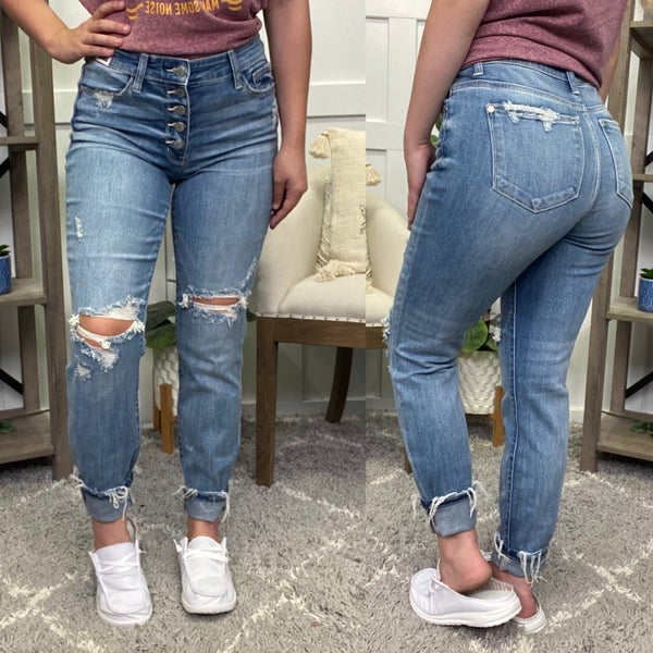The Nicole High Rise Judy Blue Jeans