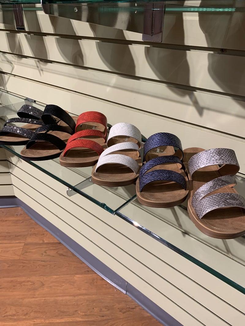 Living It Up Sandals -7 colors