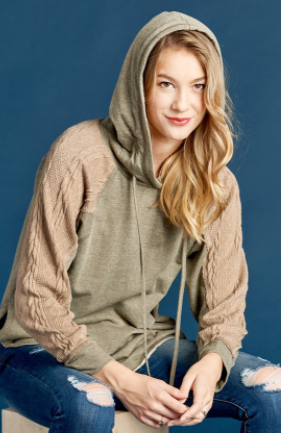 Knitted Perfection Hoodie