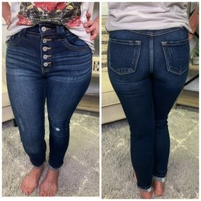 Courtney Distressed KanCan Jeans