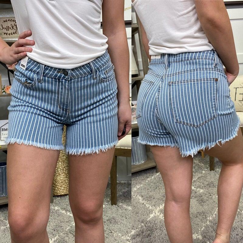 The Cynthia High Rise Judy Blue Shorts