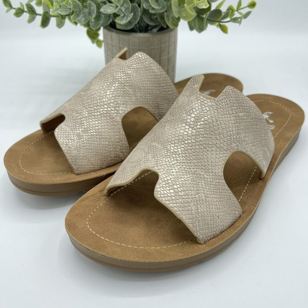 Slide In Style Corky Sandals