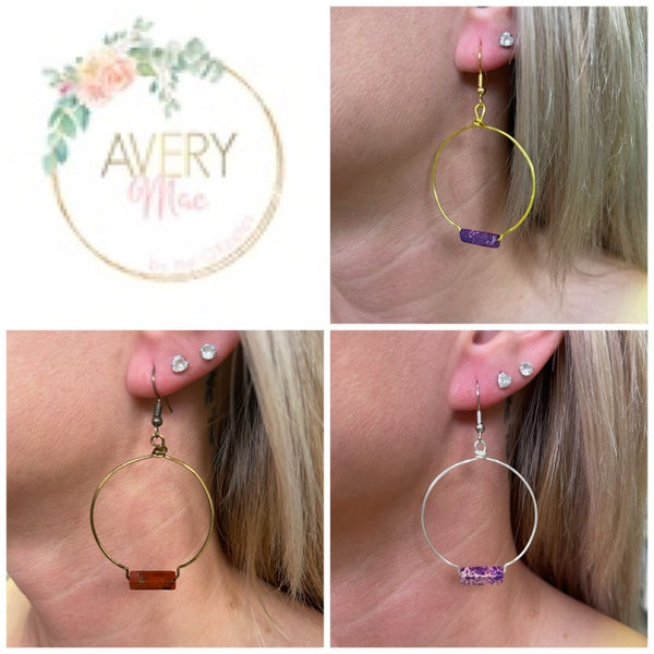 Tell Everybody Avery Mae Exclusive Earrings - 6 colors!