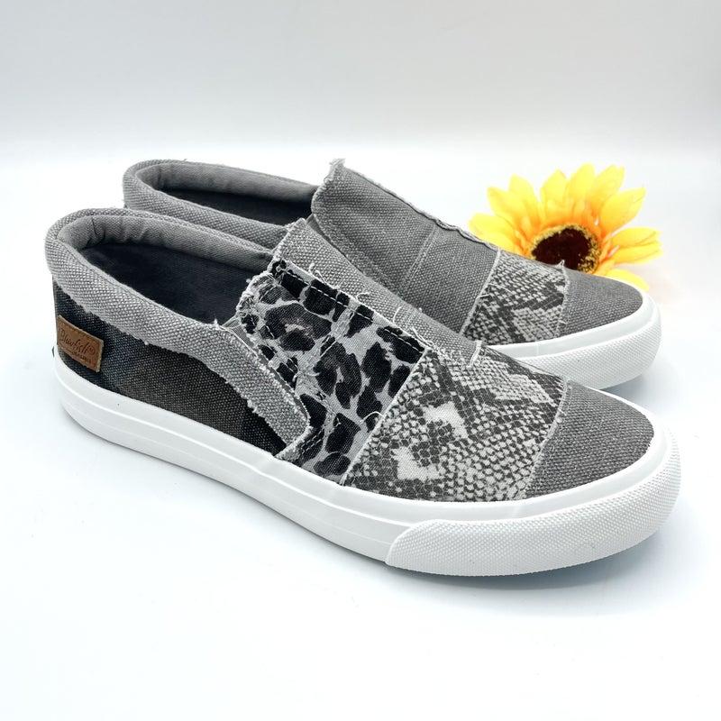 Grey Walk In The Wild Blowfish Sneakers