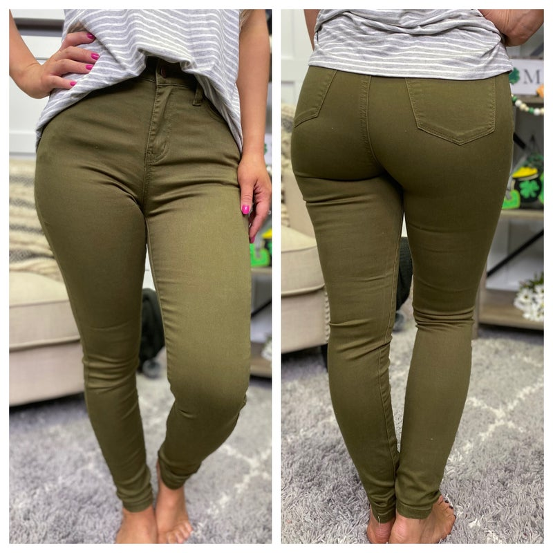 Luck of the Irish High Rise Judy Blue Jeans