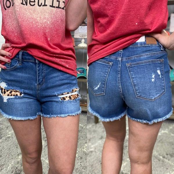 The Kat High Waisted Judy Blue Shorts