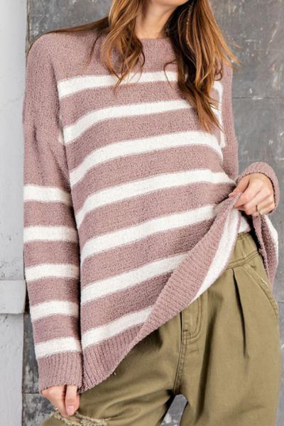 Mocha Mix Fleece Sweater