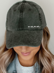 Embroidered Mama Cap - 7 colors!