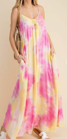 Sipping Pink Lemonade Kori Dress