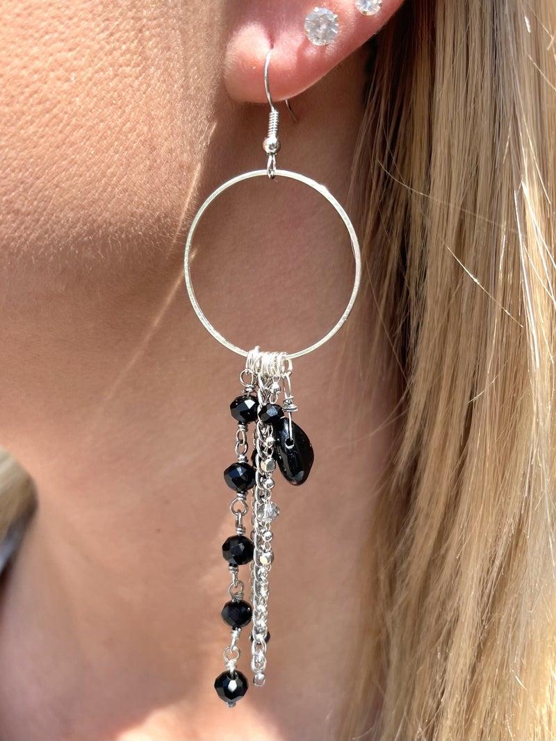 Black Beauty Avery Mae Exclusive Earrings