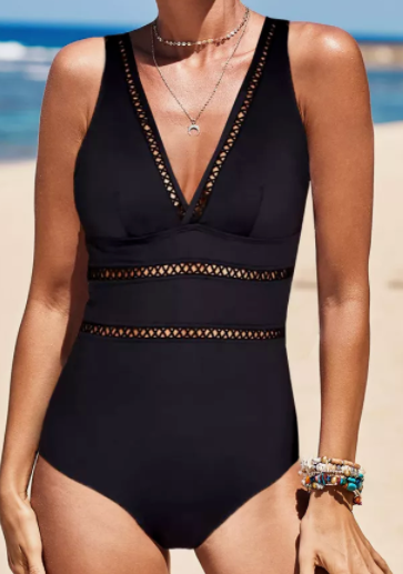 Sew Me Up One Piece Swimsuit *Final Sale*