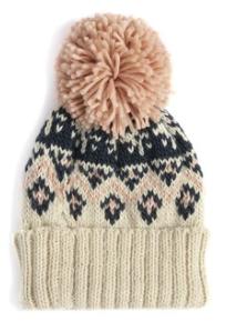 Uptown Girl Pom Pom Hat