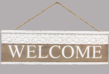 Boujee Welcome Sign