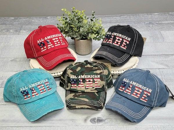 All-American Hats - 5 colors!