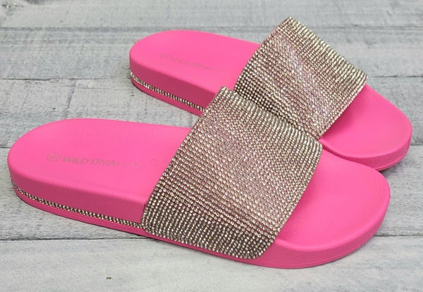 Blinged Out like Barbie Sandals