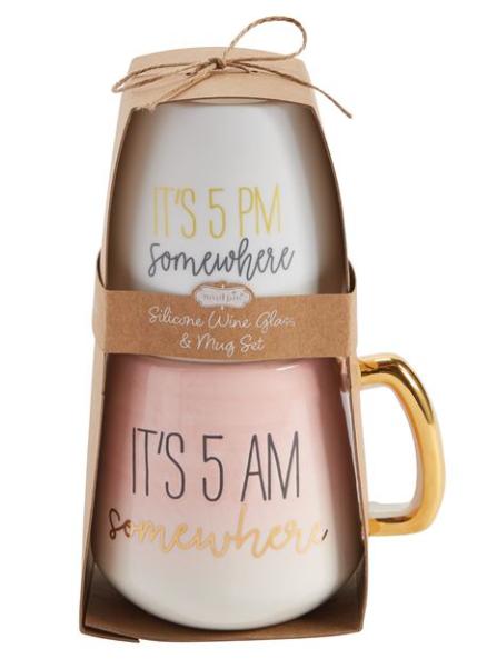 MOM Wine & Mug Set - 3 colors!