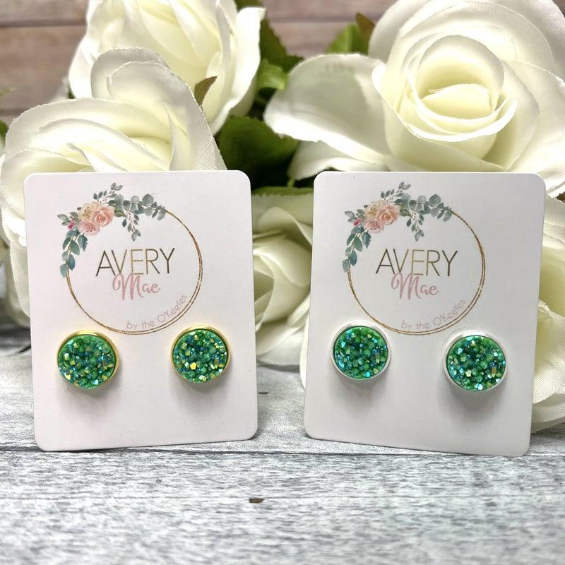 Irish Party Stud Earrings 2 colors!
