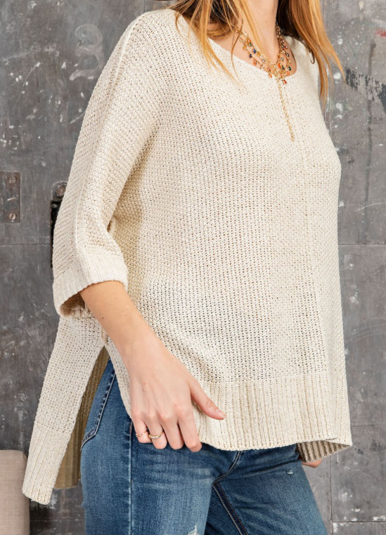 Thinking Out Loud Knitted Sweater