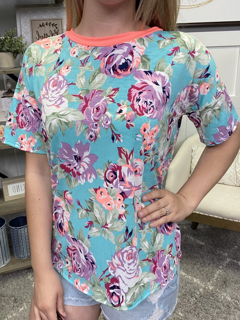 Peony Party Top