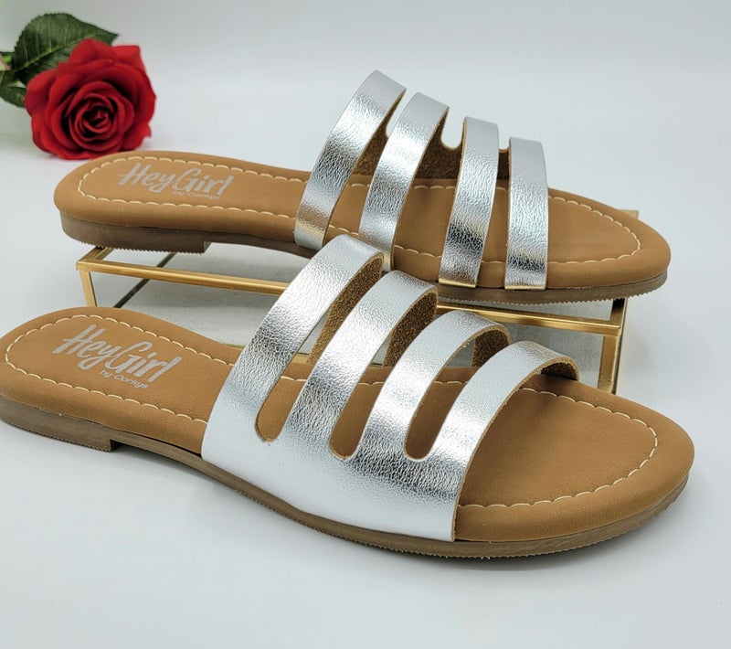 Don't Stop For Me Corky Sandal