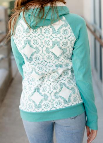 Let's Date Ampersand Avenue Double Hooded Sweatshirt