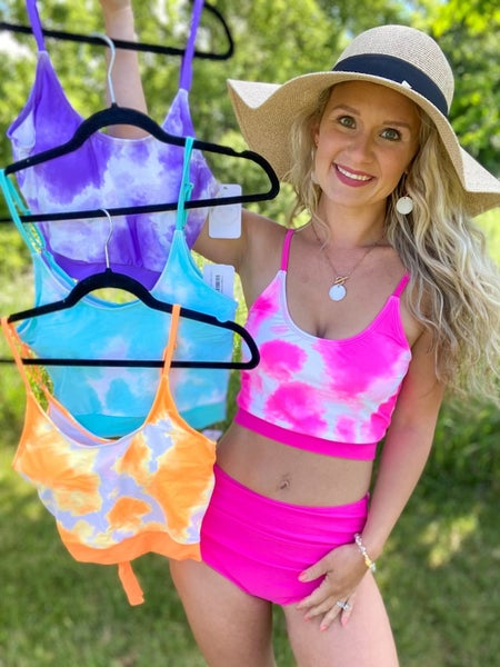 Night Cap Swim Top - 4 colors! *FINAL SALE*