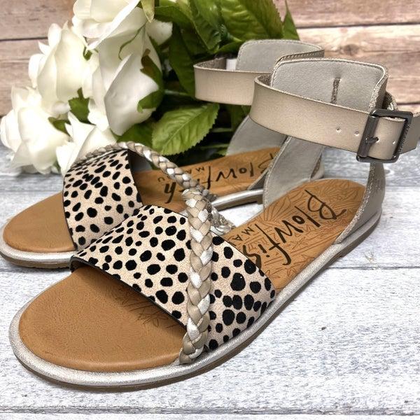 Walking with Elegance Blowfish Sandal