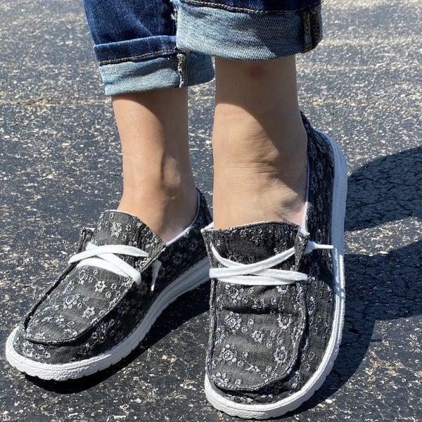 Black Afternoon Sneakers