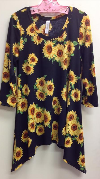 Sunflower Morning Top