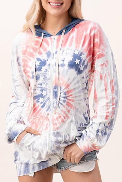 Paint Me Patriotic Hoodie