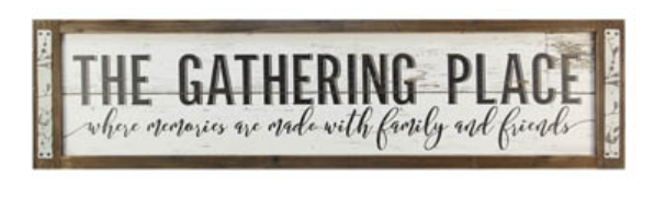 Gathering Place Wall Hanging