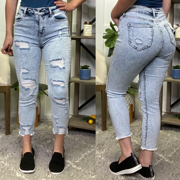 The Emmie High Rise Cello Jeans