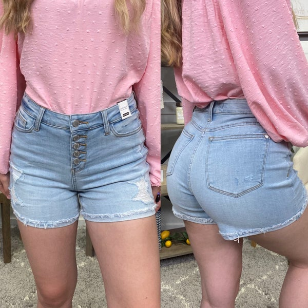 The Maggie High Rise Judy Blue Shorts