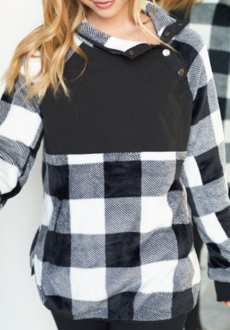 The Plaid You Need Sweater