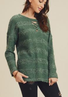 Fuzzy Cozy Sweater