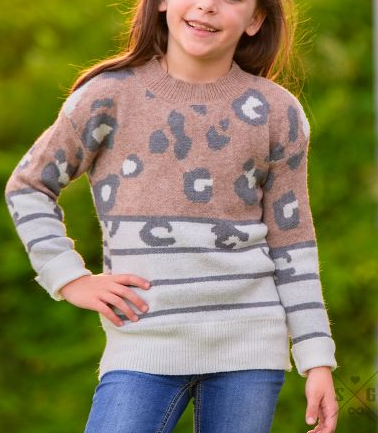Youth Leap Into Fall Sweater