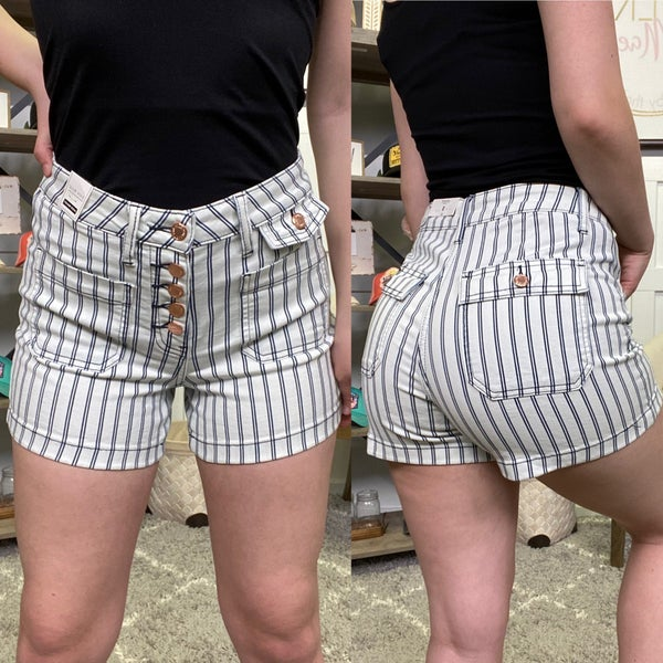 The April High Rise Judy Blue Shorts
