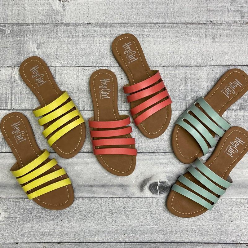 Summer Lovin' Corky Sandal - 3 colors!