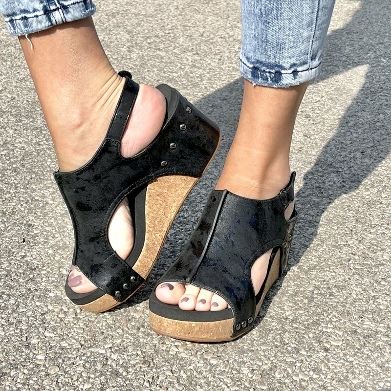 Walking In Style Corky Wedges