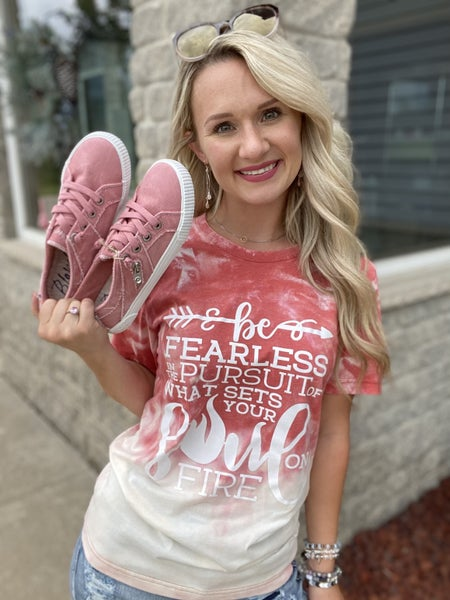 Be Fearless Graphic Tee