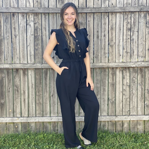 Back in Black Savanna Jane Jumpsuit