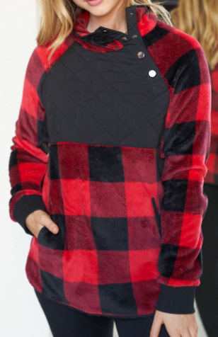 The Plaid You Won't Regret Sweater